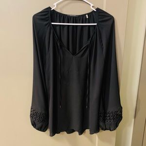 [Tahari] Black Blouse